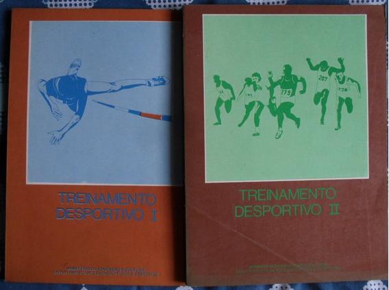 2 Livros Treinamento Desportivo I E Ii Antigo 1978