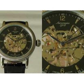 Relógio Aeromatic 1912 Skeleton 22 Rubis Edição Limitada 100