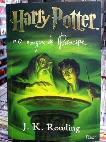 Harry Potter E O Enigma Do Príncipe Livro Rete 15,00