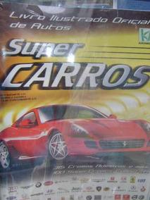 Album Super Carros , Vazio , Sem Figurinhas .
