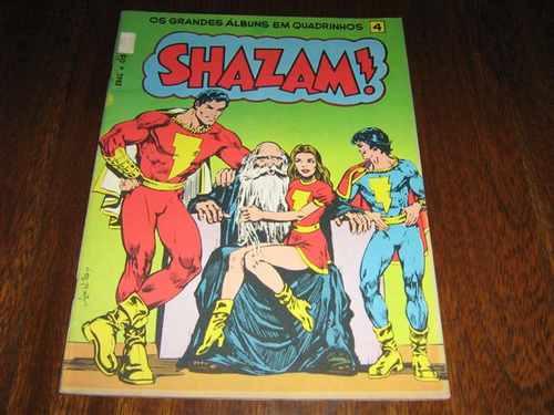 Shazam ! Os Grandes Albuns Em Quadrinhos Vol 4 Ebal