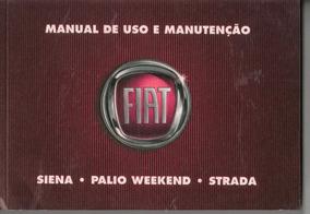 Manual Proprietário Week Siena Strad 2009 Kit Comp Em Branco