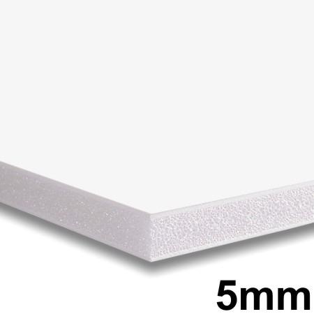 25x Placa Foam Board 122x244cm 5mm Contracole Papel Pluma