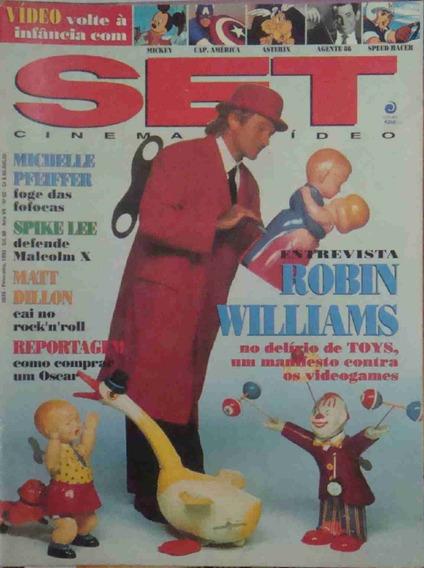 Revista Set Ano 7 No. 02 Robin Williams Fevereiro 1993