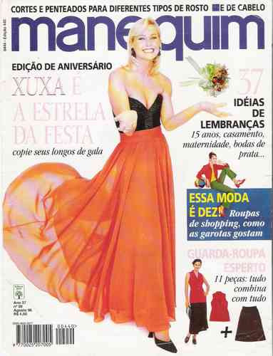 Xuxa - Manequim 1996 * A Estrela Da Festa