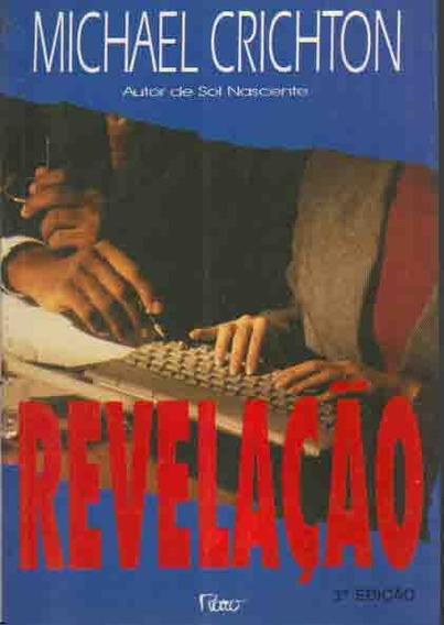 Livro - Revelação - Michael Crichton