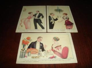 03 Cartões Postais Antigos - R$ 60,00