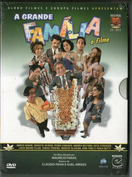 Dvd Duplo A Grande Família - O Filme - Novo***