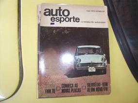Revista 4 Rodas -- Testes Fnm 1970 -- Novas Placas Maio 1970