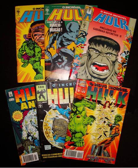 Revistas Hulk - Editora Abril - P/ Colecionadores!