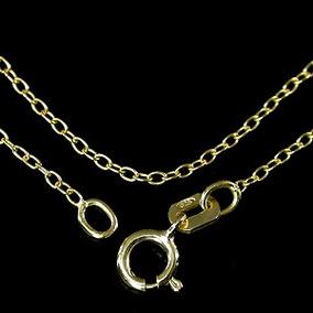 Corrente Prata 925 Folheada Ouro