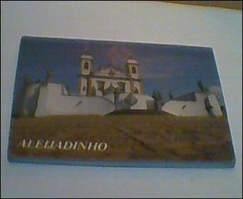 Cartão Postal -congonhas Mg- Aleijadinho- Fotoálbum-sanfona