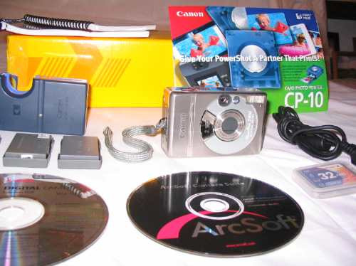 Canon S300 - Power Shot Digital Elph - Original ! ! ! ! ! !