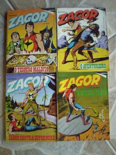 Zagor ! Rge 1985-1987! Vários! R$ 15,00 Cada!