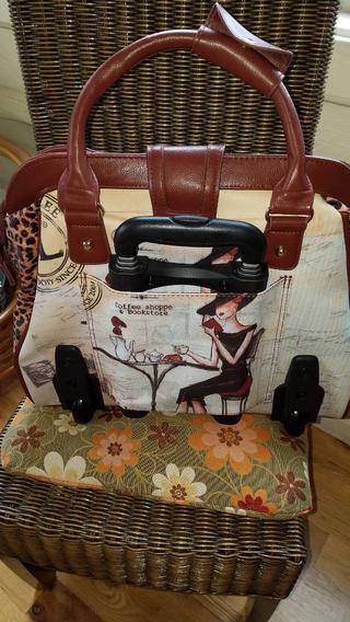 Nicole Lee Business-weekend Rolling Bag
