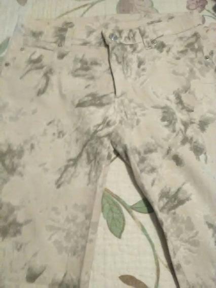 Pantalon De Gabardina Reina Tomasa