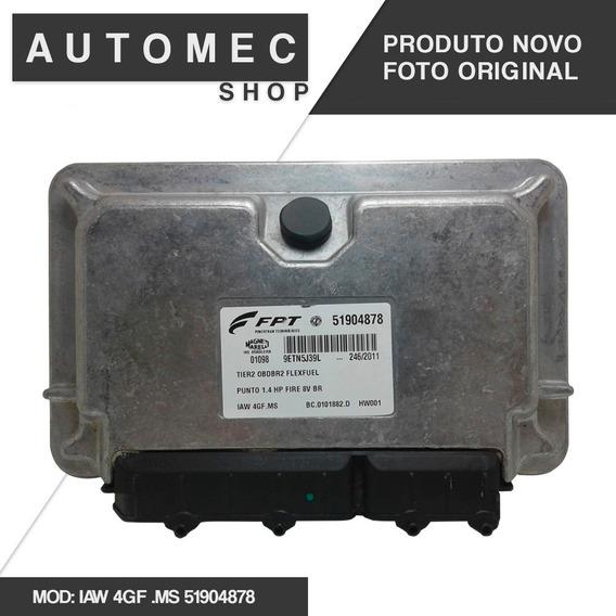 Modulo De Injeção Fiat Punto 1.4 Fire 8v Iaw 4gf.ms 51904878
