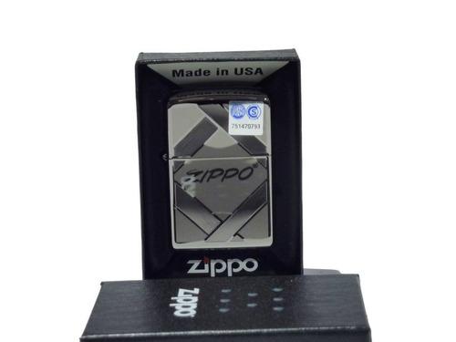 Imagen 1 de 2 de Encendedor Zippo Logo  Made In Usa 28271