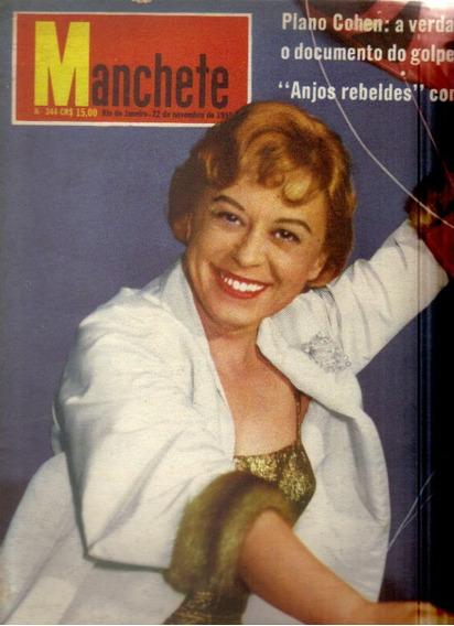 Revista Manchete Nº 344-rio De Janeiro-22 De Novembro/1958