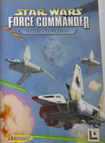 Manual De Combate Em Campo Star Wars Force Commander - Pc