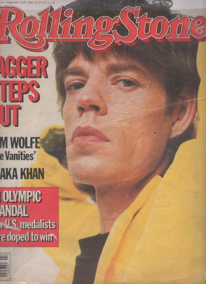 Mick Jagger Revista Magazine Rolling Stone 441 De 1985 Ameri