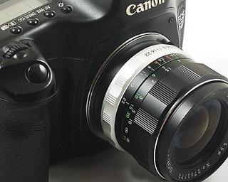 Adaptador M42mm ( Zenite, Praktica, Hellios ) P/ Canon Eos