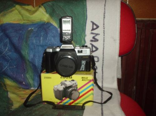 Maquina Fotografica Ouyama Da Olipios Completa Com Flash El