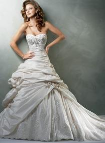 Vestido Noiva - Importado - Magnifico / Manequim P 34/36