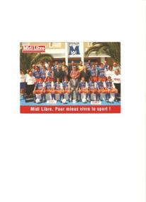 Foto Postal Montpellier Da França 1997 0,11x0,15