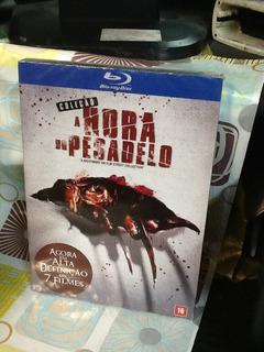 Blu-ray A Hora Do Pesadelo Coleção 7 Filmes 4 Discos