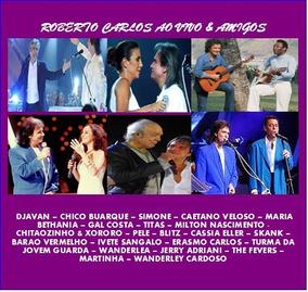 Cd Roberto Carlos Ao Vivo & Amigos - Encontros