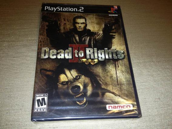 Dead To Rights 2 (sony Playstation 2, 2005) Lacrado