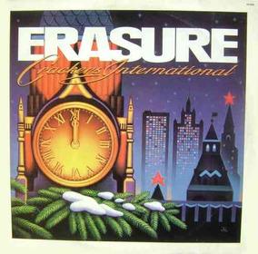 Erasure Lp Crackers International - 1989