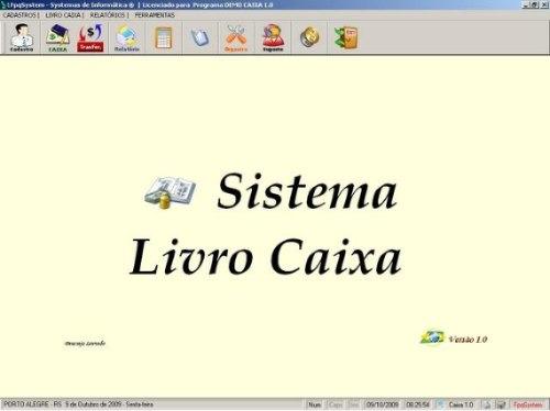 Programa Livro Caixa E Conta Corrente V1.0