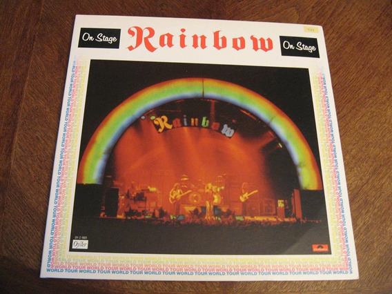 Lp Rainbow - On Stage Importado