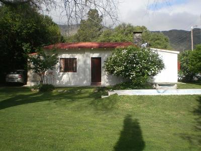 Alquilo Casa C/pileta Para 4 A 12 Personas Sierras Cordoba