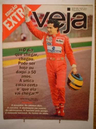 Veja (ayrton Senna) Nº 18a - Ano 27 - 03/05/1984 - Abril -bm