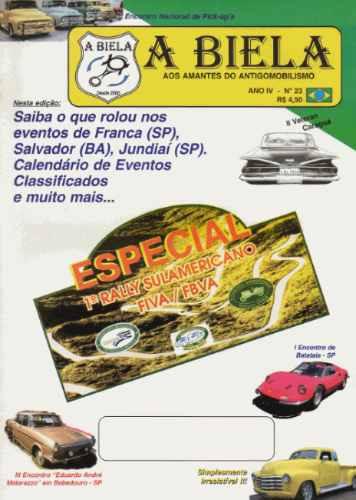 A Biela Nº23 Revista De Carros Antigos