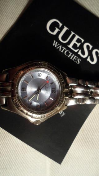 Relógio Guess Visor Azul Claro Lindo Baixouuuu!!!!