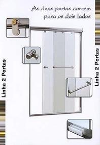 Box Vidro Temperado Incolor 8 Mm - R$ 210,00/m2