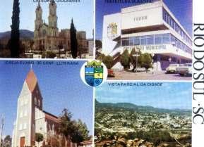 Cartão Postal - Rio Do Sul - Santa Catarina - Década De 1970