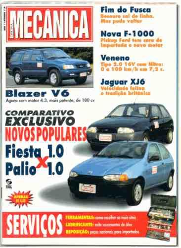 Oficina Mecânica Nº118 Fiesta Palio Blazer V6 Ford F1000