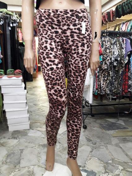 Luky Venga Outlet Calza Lycra Y Algodon Animal Print