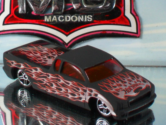Hot Wheels Pickup Steel Flame 143/2005 Raridade Lacrada