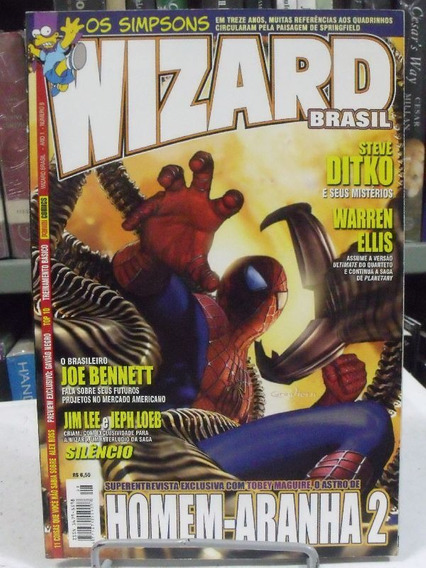 Wizard Brasil Nº 8 Os Simpons Em Treze Anos, Muitas Passagen