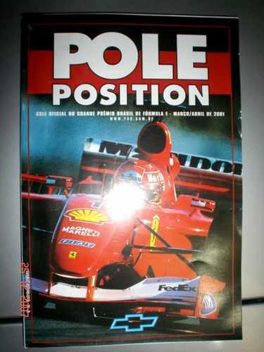 Guia Oficial Gp Brasil F1 Formula 1 Schumacher Pole Position