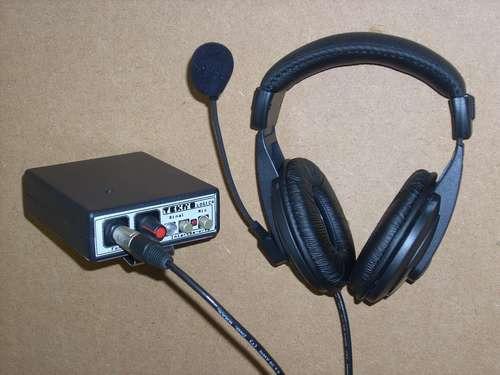 Intercom Filmagem, Beltpack Wired System.