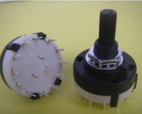 10x Chave Rotativa 3 Polos Configurável Até 4 Posições