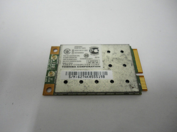 Placa Rede Wireless Toshiba Satellite A135 P/n Ar5bxb63