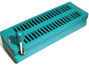 Soquete Zif 40 Pinos (microcontrolador, Trava, Processador)